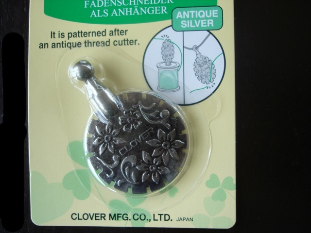 Clover thread cutter pendant jannettes rare yarns mozeypictures Gallery